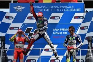 Hasil MotoGP Italia 2015