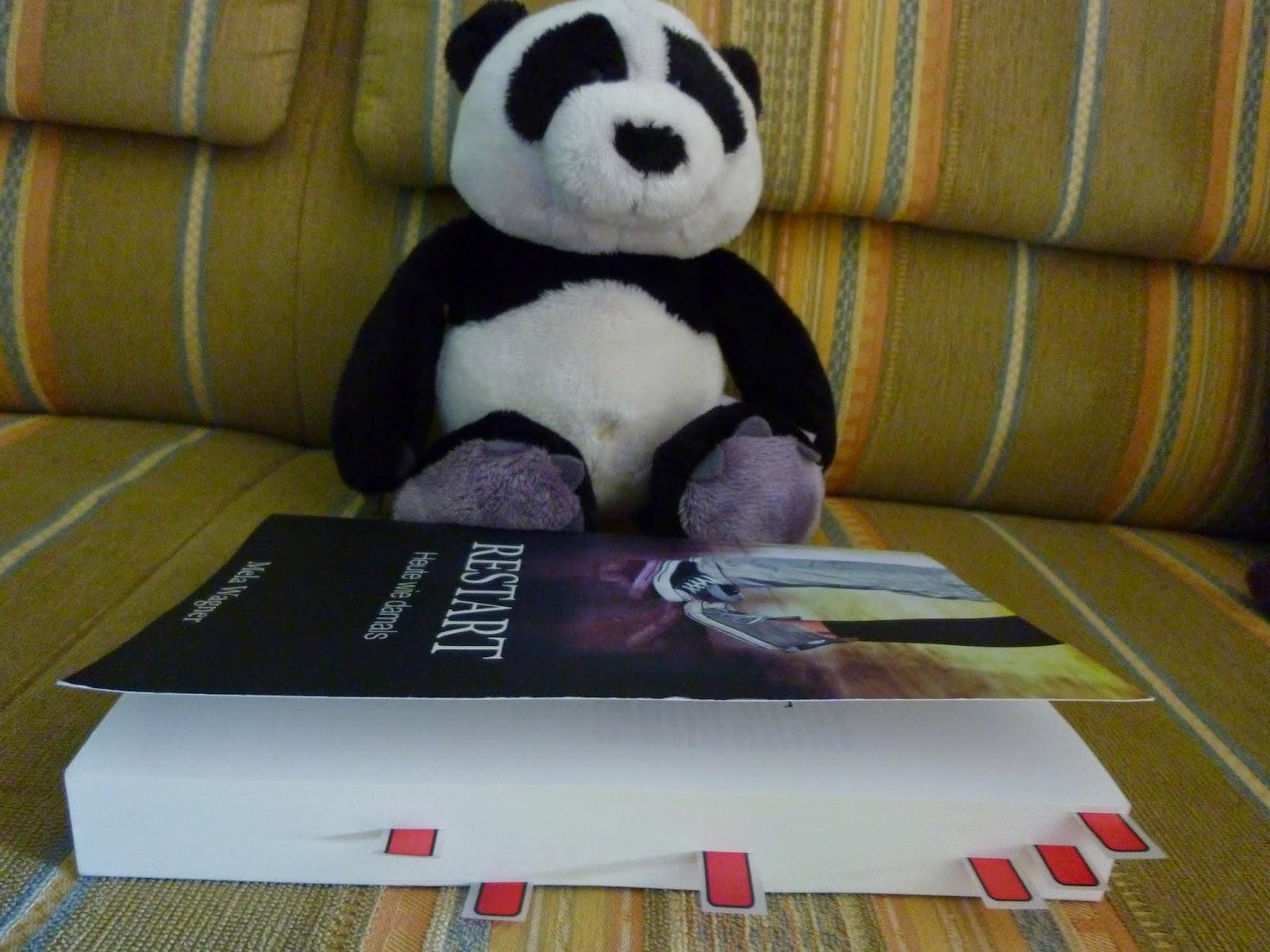 Restart Heute wie damals - Rezension - Mela Wagner - Buch Blog - Pandastic Books