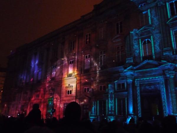 Place des Terreaux fête des lumières 2013