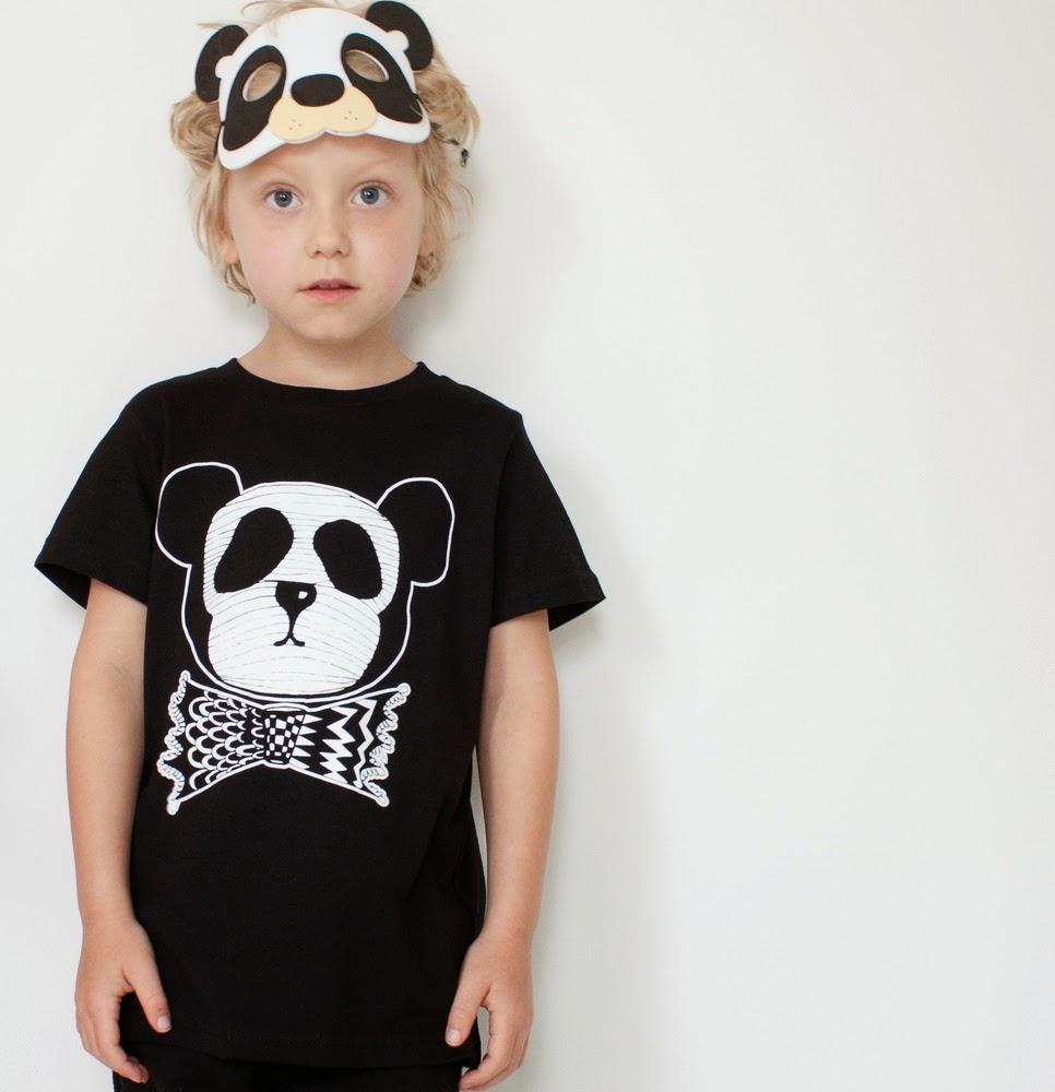 Panda tee by Maiko Mini - New Australian kidswear brand