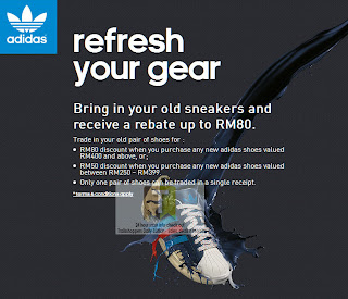 Adidas Old Sneakers For Rebate Offer
