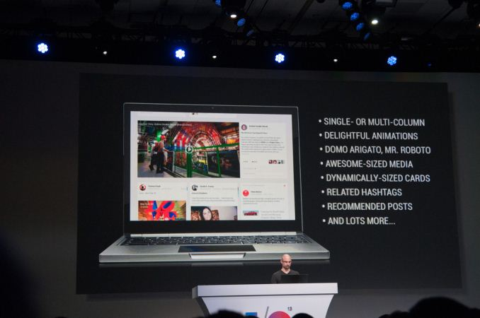 New Google+ Features I/O Keynote