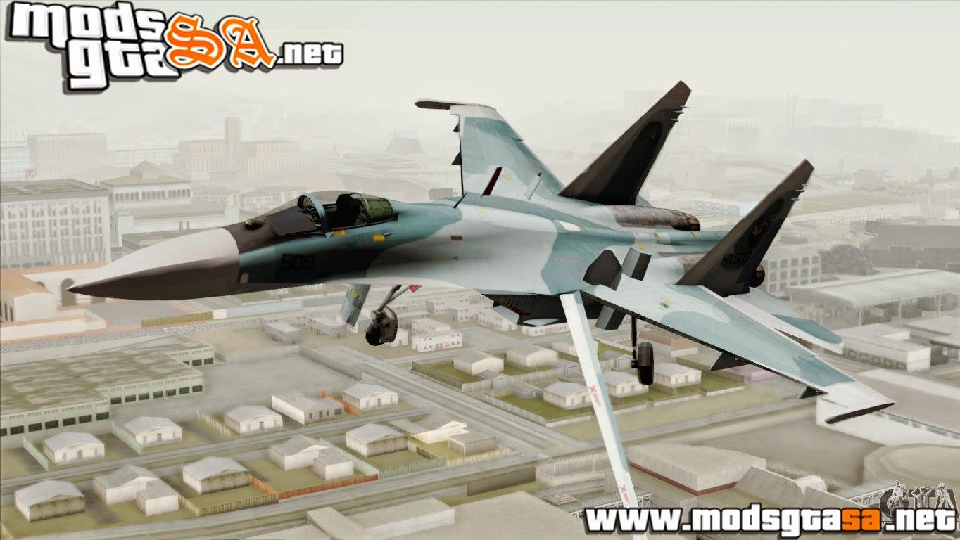 SA - Sukhoi SU-27 PMC Reaper Squadron