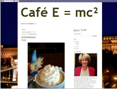 Café E = mc²