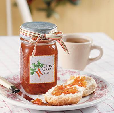 Aan Jeanne`s Keukentafel: Carrot Cake Jam
