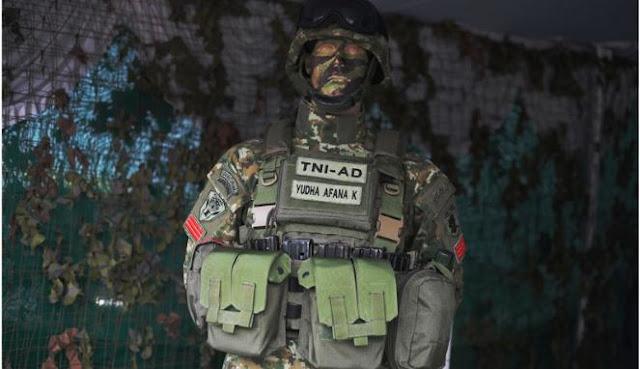 Rompi SAKTI (Sistem Angkut Kelengkapan Tempur Individu) TNI