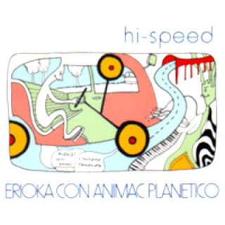 HI-SPEED-ERIOKA CON ANIMAC PLANETICO, CD, 1996, JAPAN