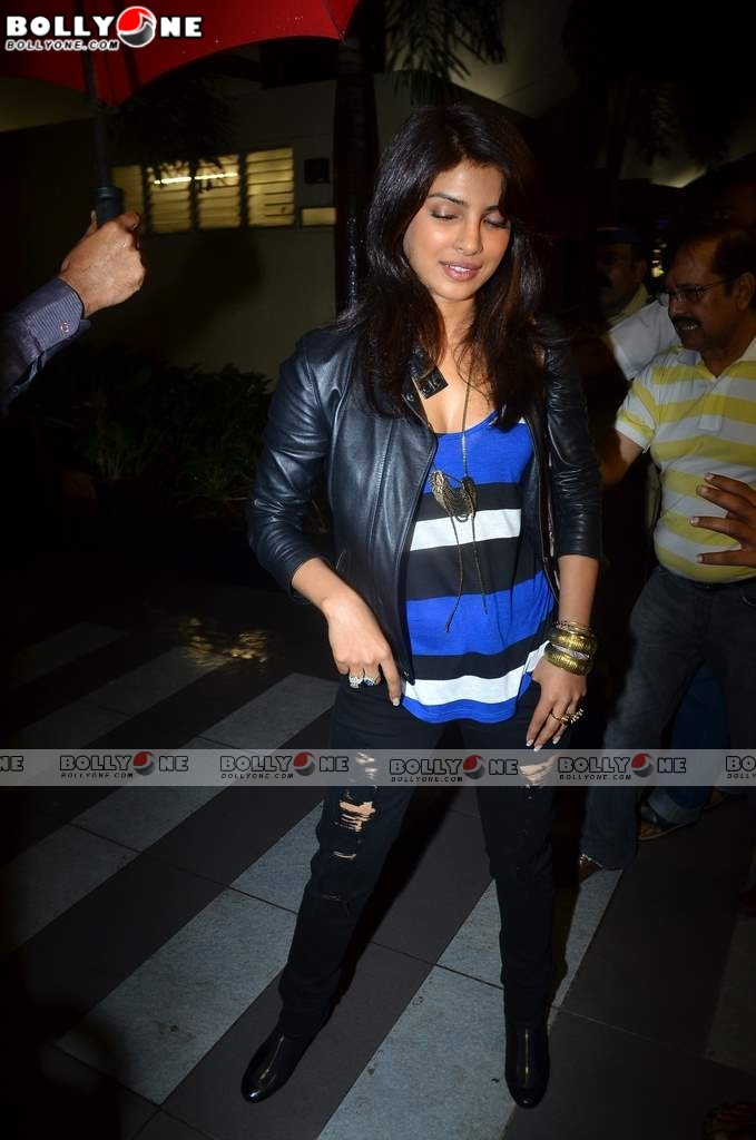 Priyanka Chopra arrives back from LA