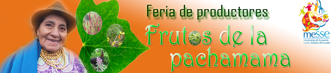 """FERIA """"FRUTOS DE LA PACHAMAMA"""""""
