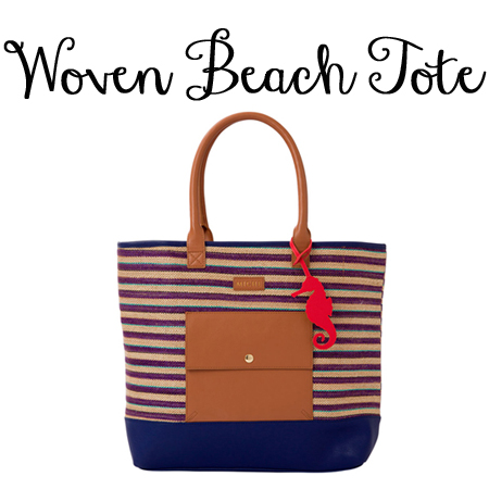 Miche Woven Beach Tote available at MyStylePurses.com
