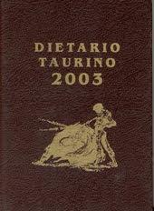 DIETARIO 2003