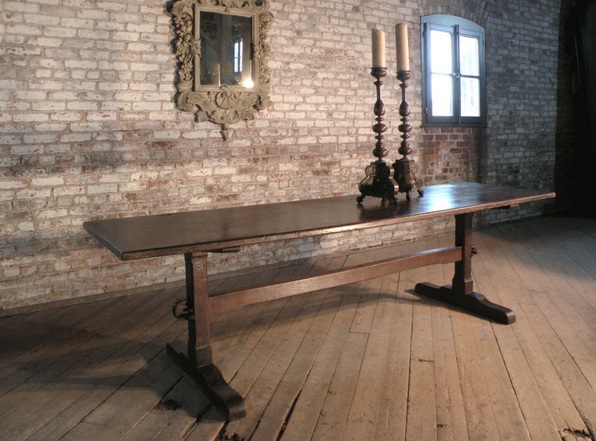Off We Went To 1stDibs For Some Inspiration For A Trestle Table Which Would  Please Our Client, Who, Up Until This Point Had Never Seen A Trestle Style  That ...