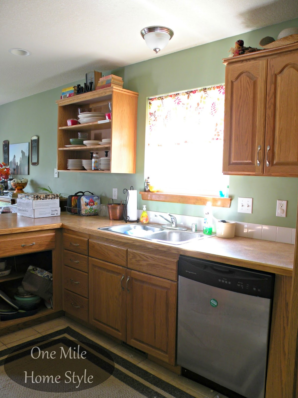 Builder basic kitchen before