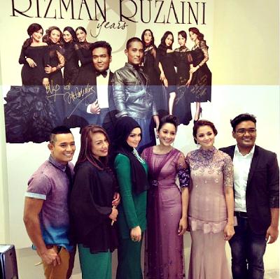 ... , Ziana Zain, Nur Fazura Meriahkan Rizman Ruzaini Raya Fashion Show