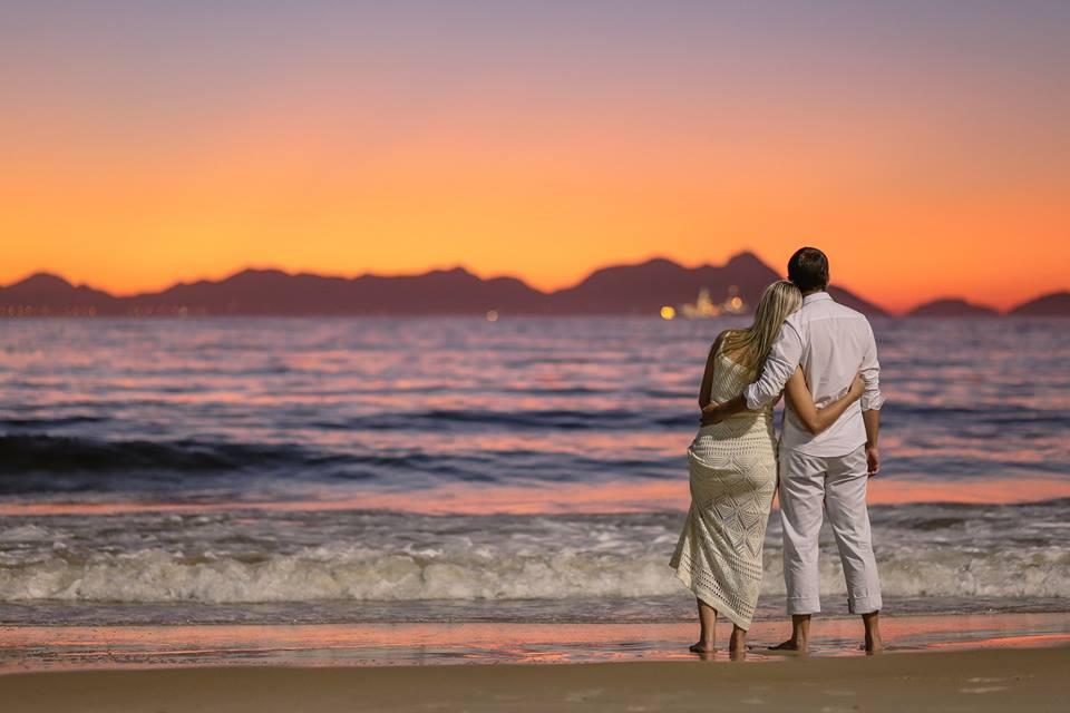 Casarei em Brasília: Ensaio romântico ao nascer do sol. Any e ...