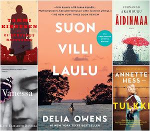Vuoden 2020 parhaat kirjat Leena Lumissa ja...