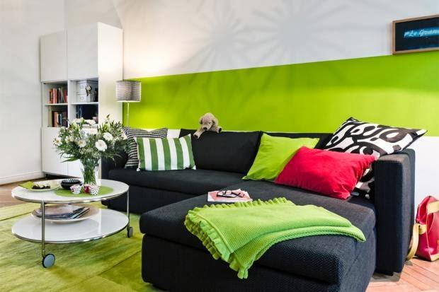 Decoracion En Paredes Verdes ~ El verde es un color que combina muy bien con el beige y marr?n