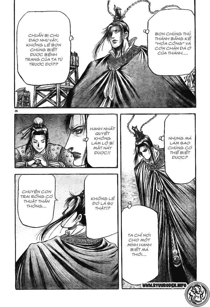 Chú Bé Rồng - Ryuuroden chap 181 - Trang 26