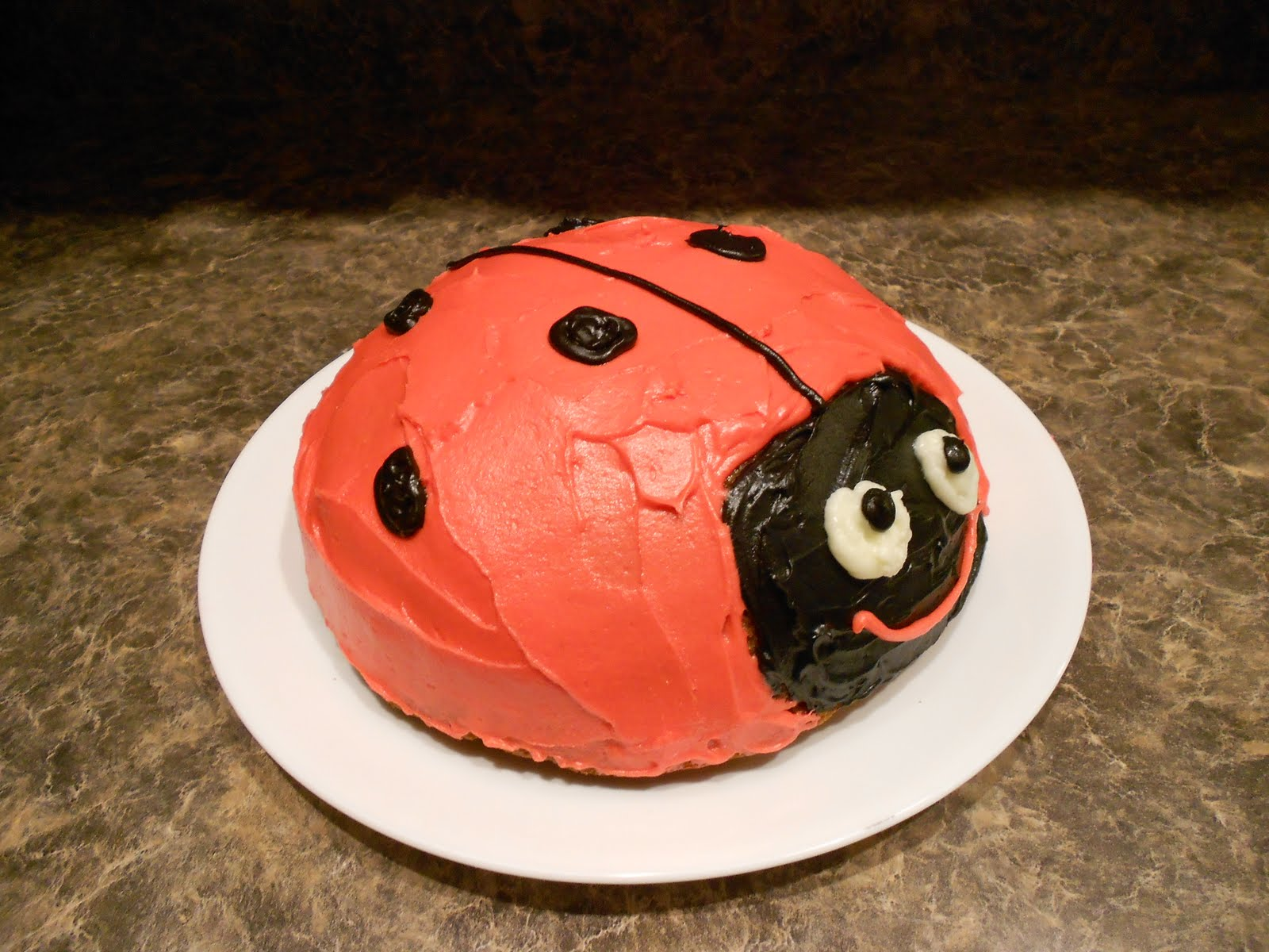 almost unschoolers how to make a super simple ladybug cake