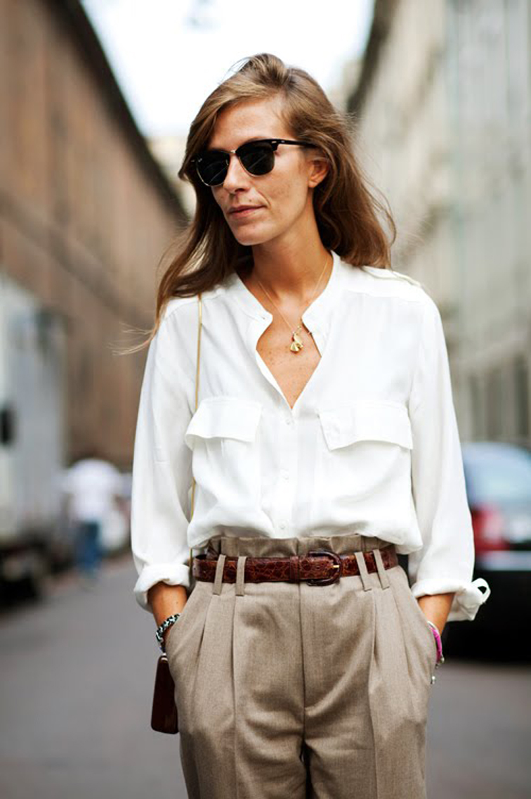 Как Правильно Носить Блузку