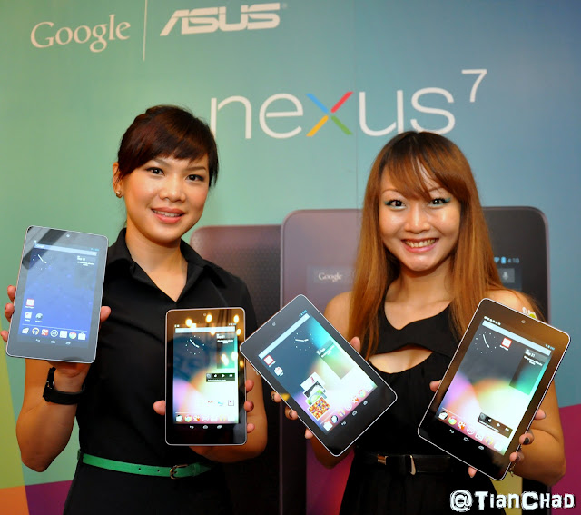 Google Nexus 7 Malaysia Launch @ RM 999