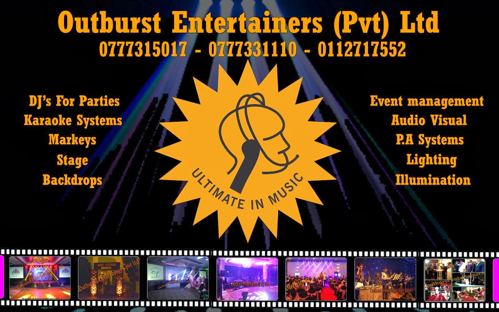 Outburst Entertainers (Pvt) Ltd.