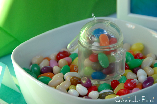 figurine android + jelly bean / android collectible + jelly bean