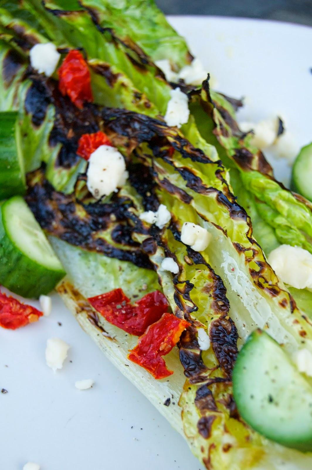 Grilled Romaine Salad | www.kettlercuisine.com