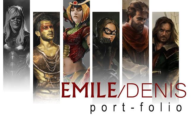 Emile denis portfolio