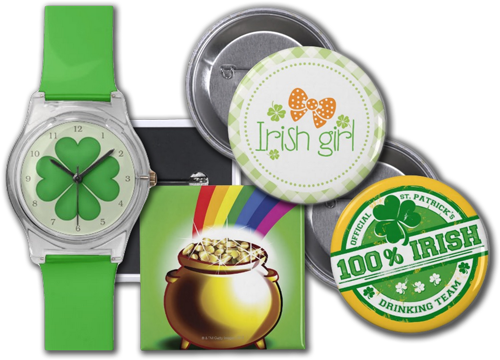 St. Patrick's Day Accessories and Gifts