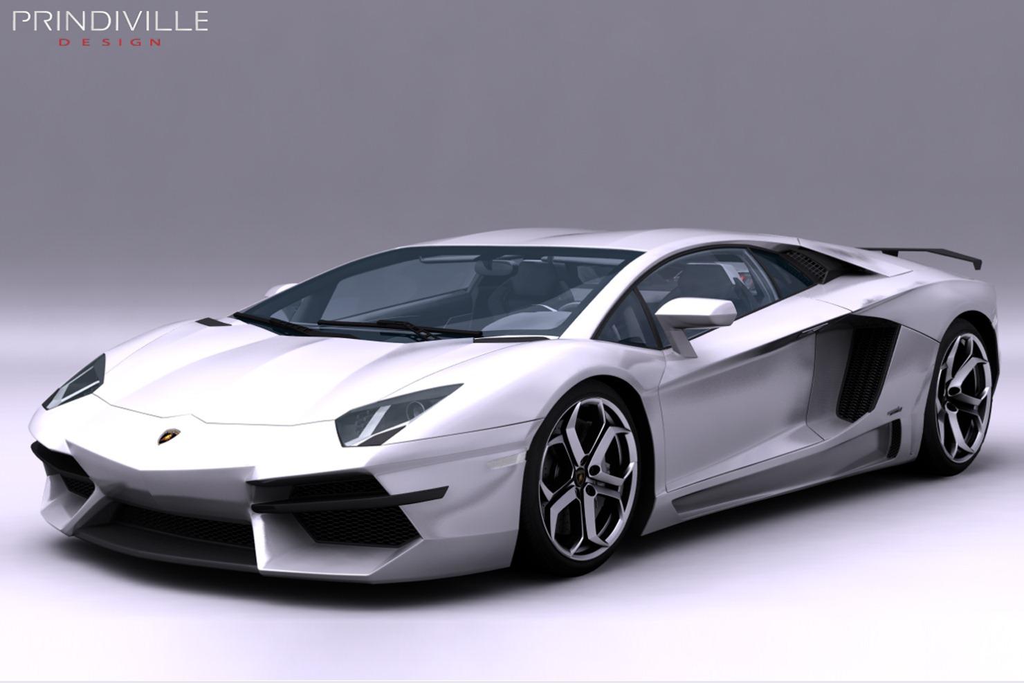 2012 Prindiville Lamborghini Aventador Lp700 4 Gambar