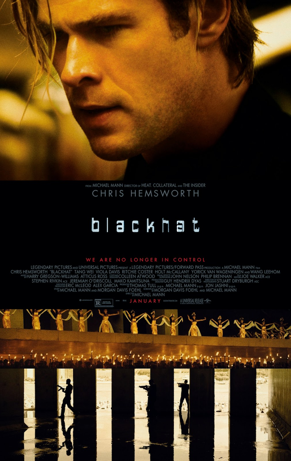 Blackhat (2015) Poster