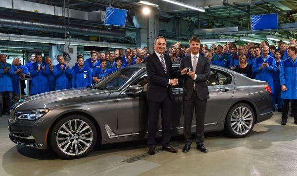 Έναρξη παραγωγής της νέας BMW Σειράς 7 στο Εργοστάσιο του Dingolfing
