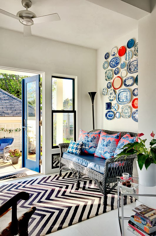 Designing a Decorative Plate Wall Driven by Decor