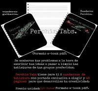 Necesitas un cuaderno donde pasar tus ideas y tablaturas?