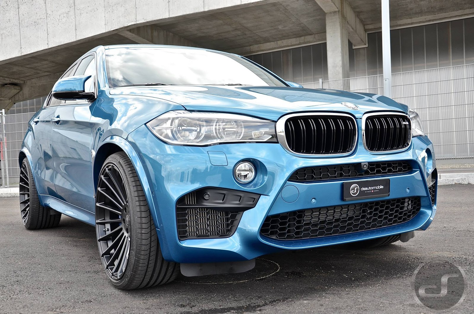 Bmw X6 M Gets The Hamann Treatment And It Looks Power