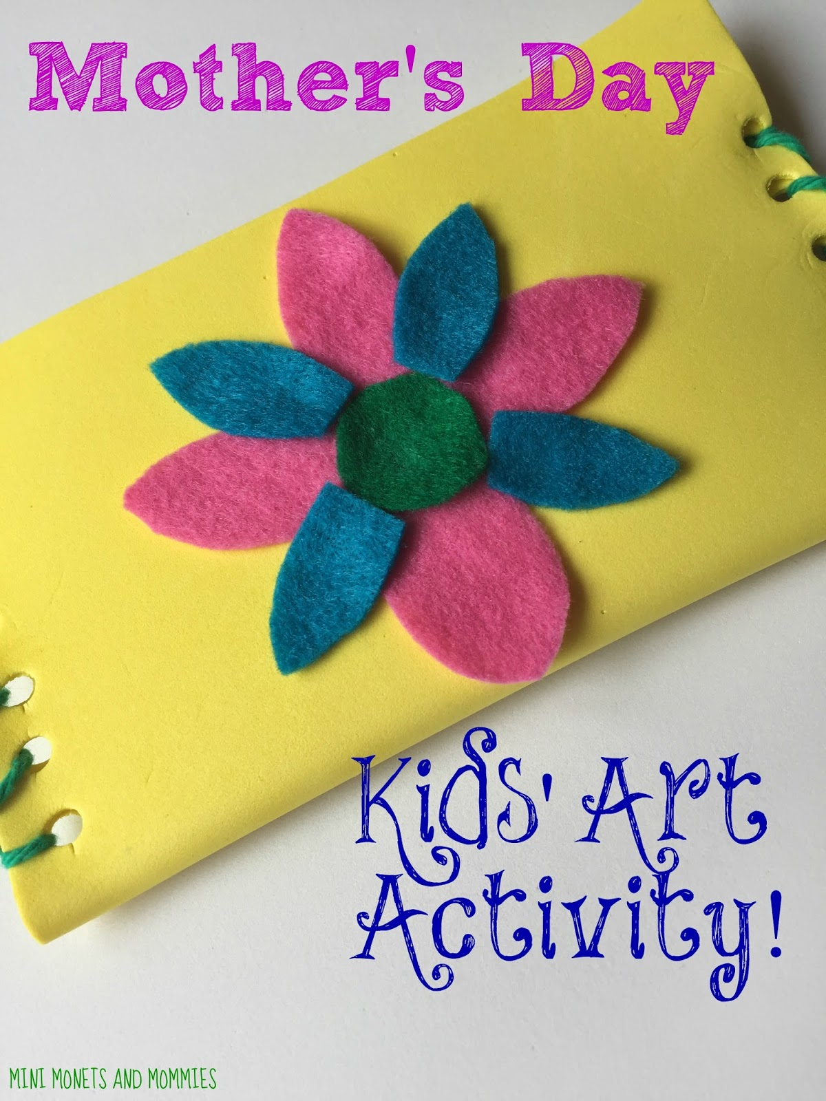 Mini Monets And Mommies Mothers Day Crafts For Kids Diy Wallet