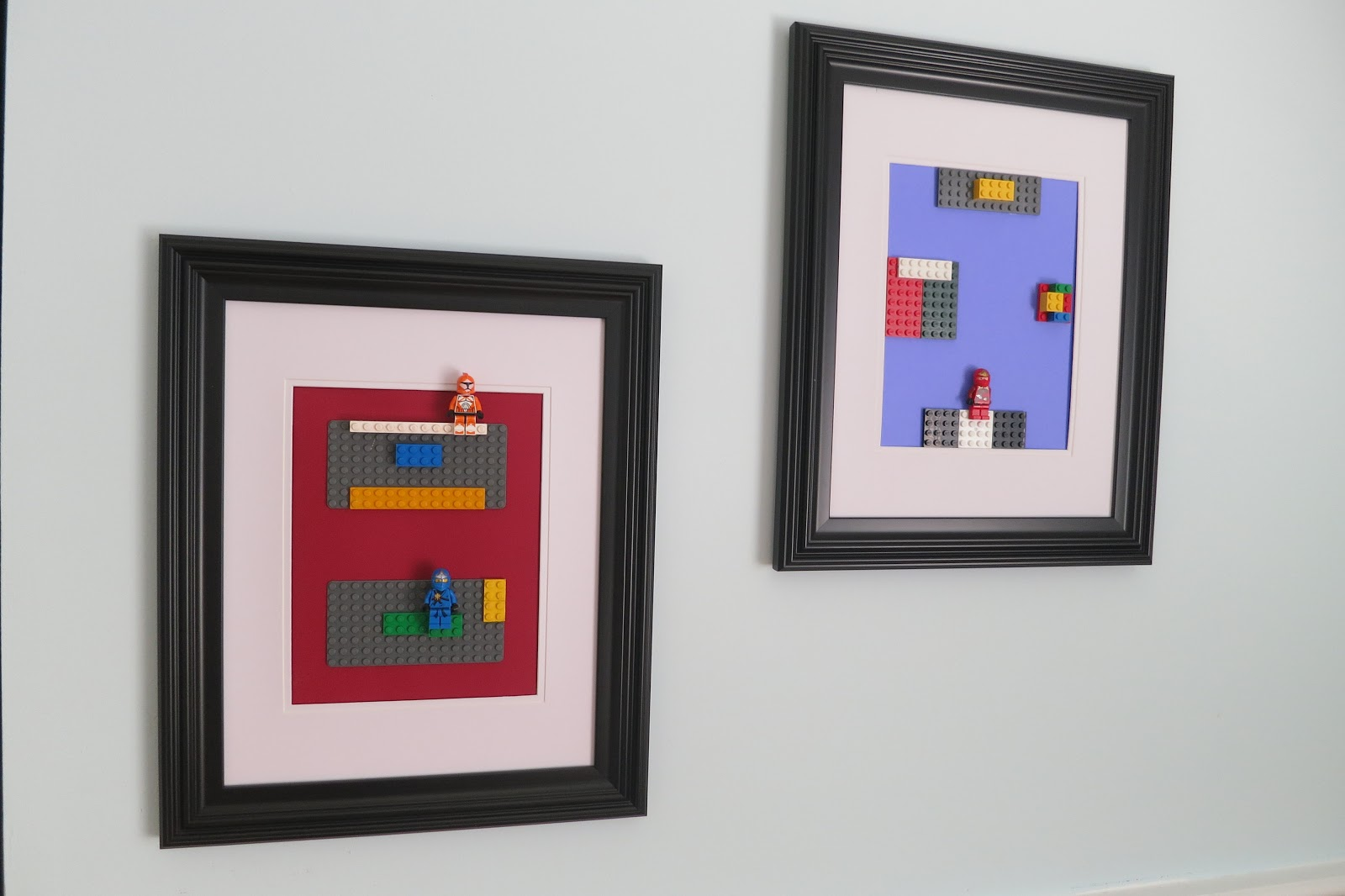 simplyiced party details lego wall art. Black Bedroom Furniture Sets. Home Design Ideas