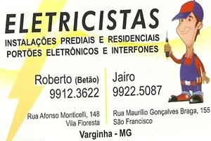 Precisou de Eletricistas?! Ligue