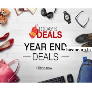 Amazon Year End Special Deals get 2000+ Deals in this Offer – Buytoearn
