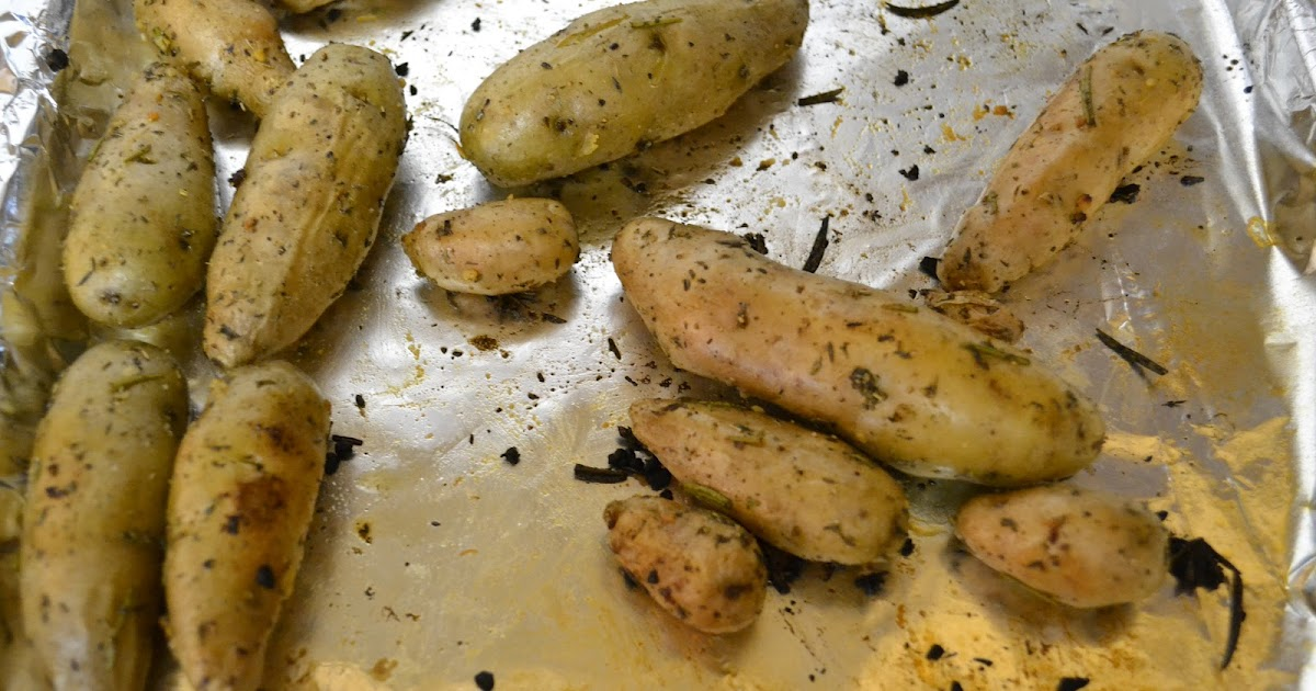 ... It On The Skinny: Roasted Fingerling Potatoes with Herbs and Garlic