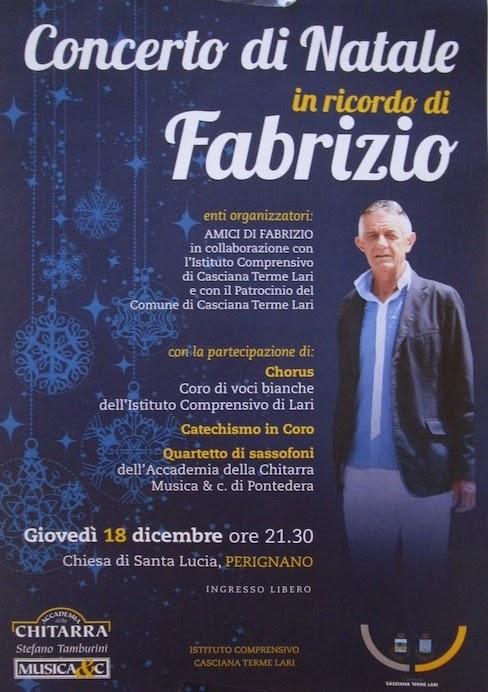 Concerto di Natale in ricordo di Fabrizio
