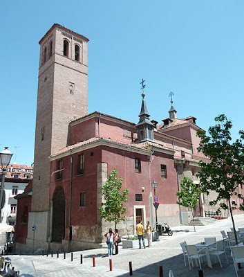 """Iglesia de San Pedro el Viejo (Madrid) 02"" by Luis García. Licensed under CC BY-SA 3.0 via Wikimedia Commons - https://commons.wikimedia.org/wiki/File:Iglesia_de_San_Pedro_el_Viejo_(Madrid)_02.jpg#/media/File:Iglesia_de_San_Pedro_el_Viejo_(Madrid)_02.jpg"