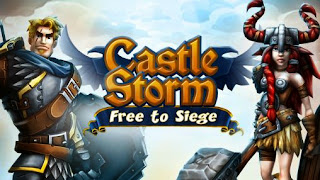 Screenshots of the CastleStorm Free to Siege for Android tablet, phone.