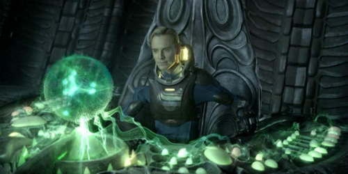 Prometheus film spoiler Michael Fassbender android David 8