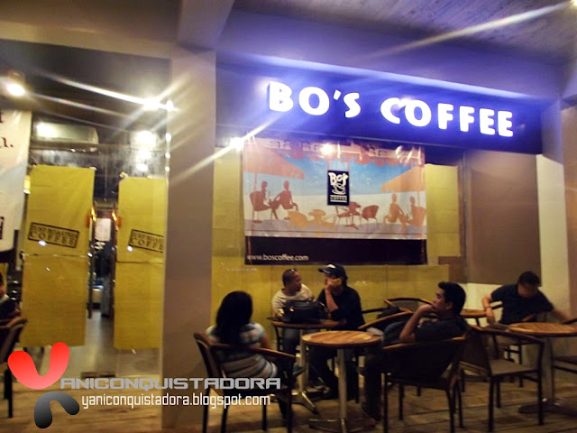 Bo's Coffee in Now Brewing along Jupiter Street, Makati City