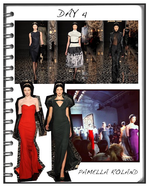 Fashion Junkies NEW YORK FASHION WEEK HIGHLIGHTS: day three with Pamella Roland a/w runway show