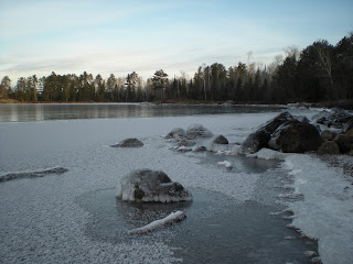 Newly frozen Burntside Lake http://huismanconcepts.com/