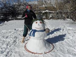 Renee & GKWS Snowman