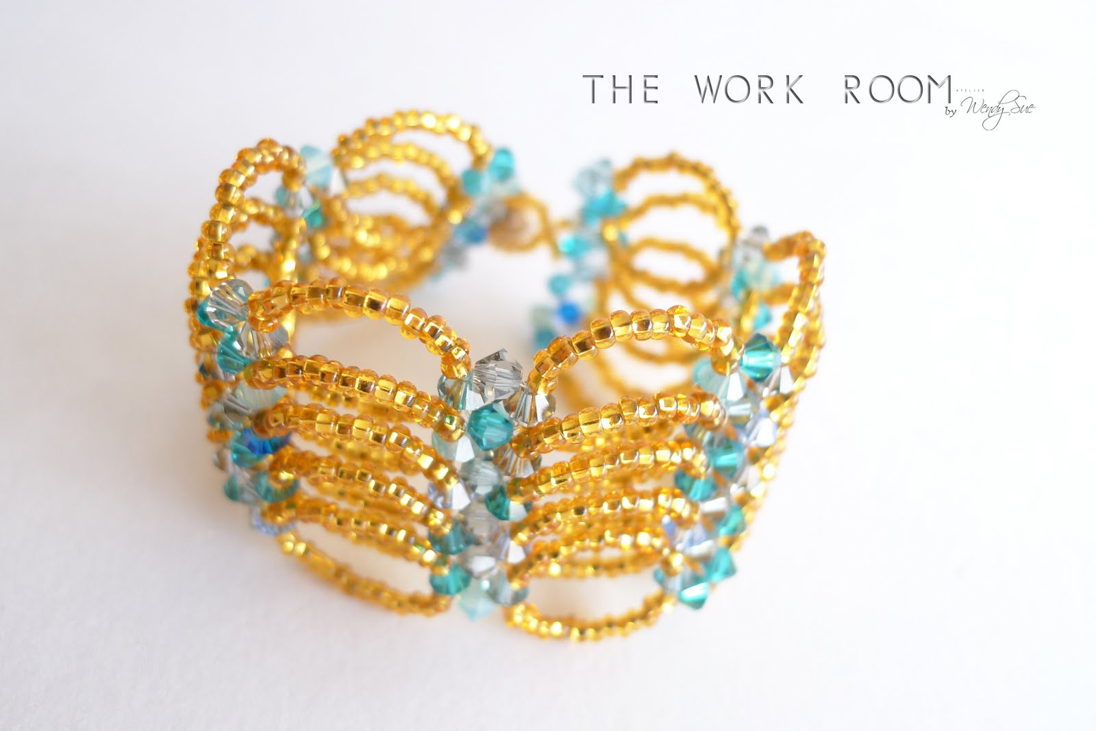 The Work Room: TWR072 Springy Bracelet Tutorial